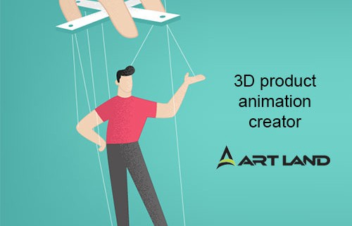 3D product animation creator