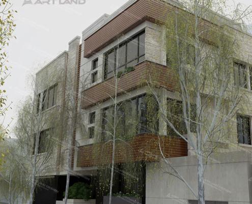 3D Max building design