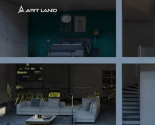 3D animation architecture design