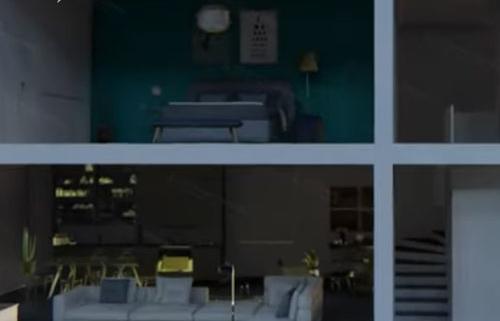 3D animation architecture design