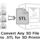 3D Object to stl